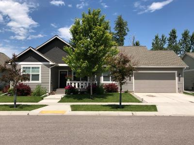 Missoula Single Family Home Under Contract Taking Back-Up : 2320 Riverstone Drive
