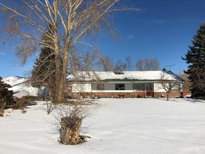 Polson Single Family Home Under Contract Taking Back-Up : 63644 Us Hwy 93