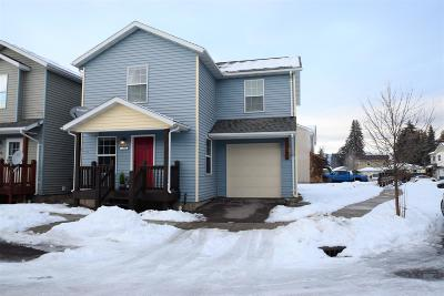 Missoula Single Family Home Under Contract Taking Back-Up : 1303 Linnea Lane