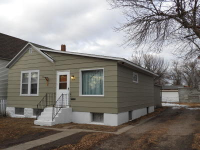 Great Falls Single Family Home Under Contract Taking Back-Up : 515 2nd Avenue South West