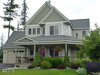 Whitefish Single Family Home Under Contract Taking Back-Up : 1038 Creek View Drive