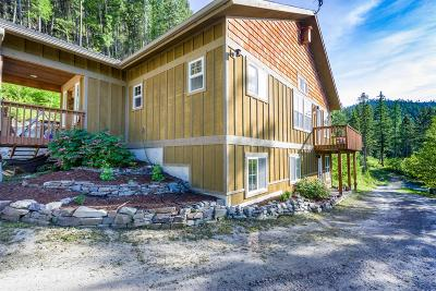 Flathead County Single Family Home For Sale: 101 Tacklin Creek Road