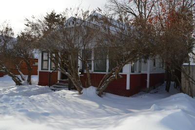Flathead County Single Family Home Under Contract Taking Back-Up : 740 Somers Avenue
