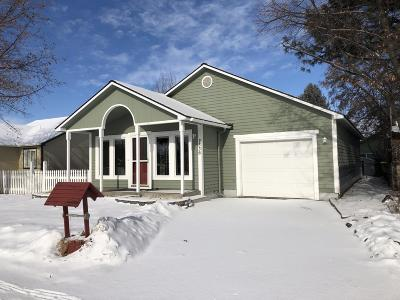 Missoula Single Family Home Under Contract Taking Back-Up : 2336 Mount Avenue