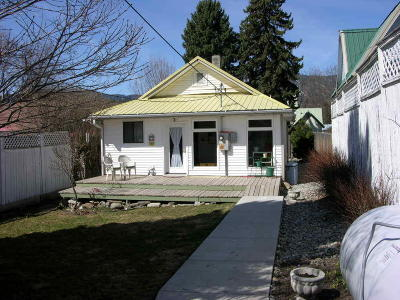 Thompson Falls Single Family Home For Sale: 106 Madison Street