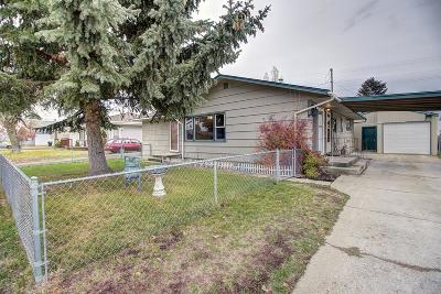 Columbia Falls Single Family Home Under Contract Taking Back-Up : 477 5th Avenue East North