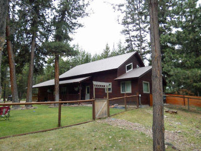 Seeley Lake Single Family Home Under Contract Taking Back-Up : 250 Hauser Drive