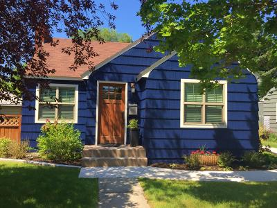 Missoula Single Family Home Under Contract Taking Back-Up : 420 North Avenue West