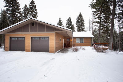 Whitefish Single Family Home Under Contract Taking Back-Up : 129 Aspen Ridge Way