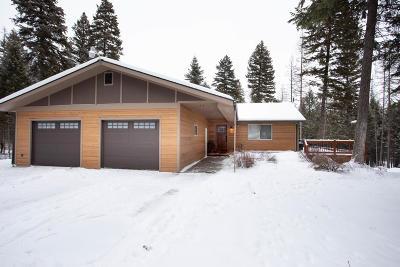 Flathead County Single Family Home Under Contract Taking Back-Up : 129 Aspen Ridge Way