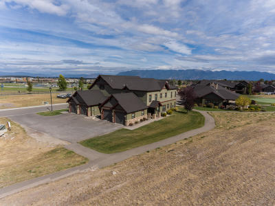 Kalispell Single Family Home Under Contract Taking Back-Up : 180 Meadow Vista Loop