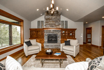 Kalispell Single Family Home Under Contract with Bump Claus: 155 Eagle Crest Court