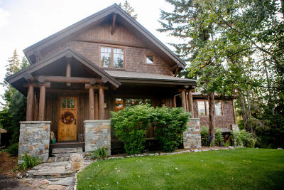 Whitefish, Olney Single Family Home For Sale: 1014 Creek View Drive