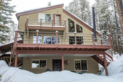 Whitefish MT Single Family Home Under Contract Taking Back-Up : $499,000