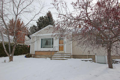 Missoula Single Family Home Under Contract Taking Back-Up : 435 Burlington Avenue