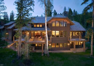 Whitefish Single Family Home For Sale: 177 South Shooting Star Circle