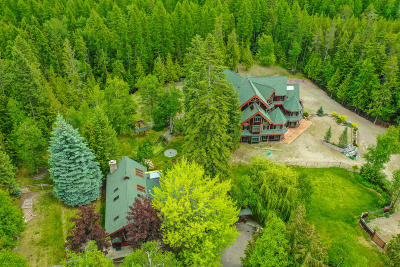 Whitefish Single Family Home For Sale: 2125 Big Mountain Road