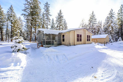 Bigfork MT Single Family Home For Sale: $219,900