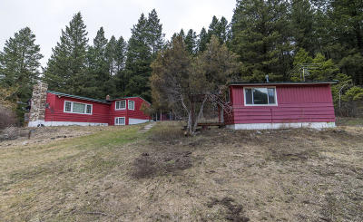 Missoula County Single Family Home For Sale: 15860 Highway 93 N