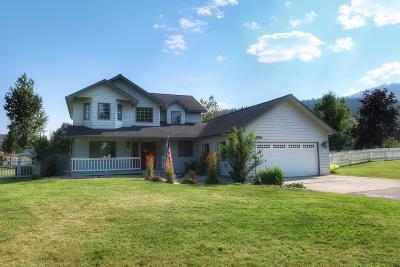 Missoula Single Family Home Under Contract Taking Back-Up : 8135 Mesa Court