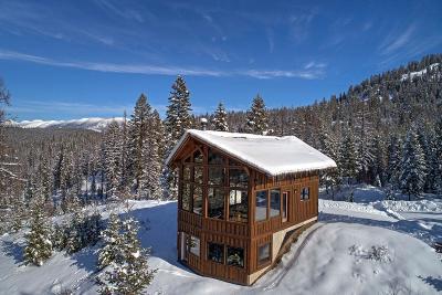 Flathead County Single Family Home For Sale: 312 Buckhorn Road