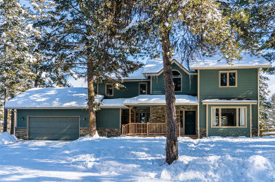Kalispell Single Family Home Under Contract Taking Back-Up : 110 Wakewood Drive