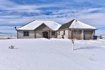 Helena Single Family Home Under Contract Taking Back-Up : 3130 Bannack Drive