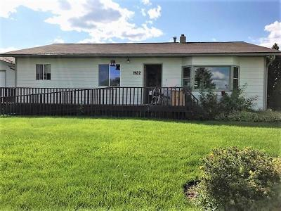 Kalispell Single Family Home Under Contract Taking Back-Up : 1922 Belmar Drive