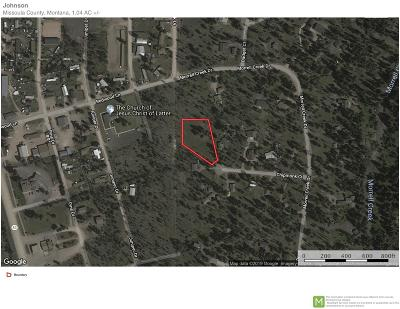 Missoula County Residential Lots & Land For Sale: 73 Chipmunk Court
