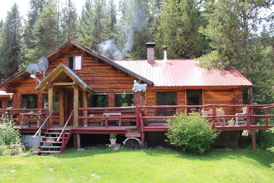 Flathead County Single Family Home For Sale: 1945 Lower Lost Prairie Road