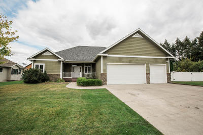 Kalispell Single Family Home Under Contract Taking Back-Up : 103 Stillwater Lane