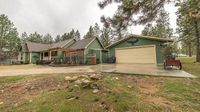 Single Family Home For Sale: 5415 Teepee Drive