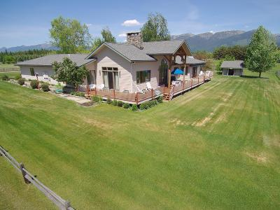 Flathead County Single Family Home For Sale: 1340 Swan Horseshoe Drive