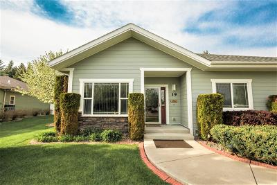 Kalispell Single Family Home Under Contract Taking Back-Up : 19 Glacier Circle