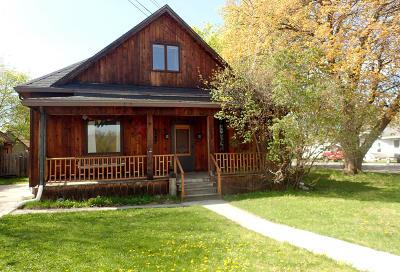 Missoula Single Family Home For Sale: 1063 South 1st Street West