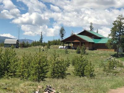Seeley Lake Single Family Home For Sale: 1201 Shining Shirt Road