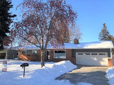 Missoula Single Family Home Under Contract Taking Back-Up : 86 Lacota Drive