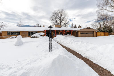 Missoula Single Family Home Under Contract Taking Back-Up : 601 Beverly Avenue