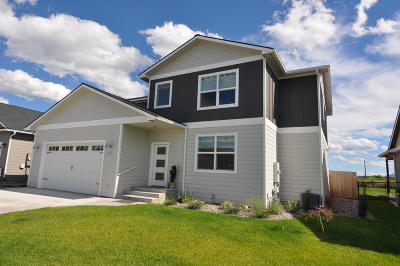 Missoula Single Family Home Under Contract Taking Back-Up : 5321 Filly Lane