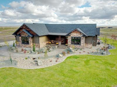 Great Falls, Black Eagle, Belt, Ulm Single Family Home For Sale: 76 Granite Hill Lane