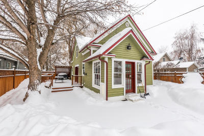 Kalispell Single Family Home Under Contract Taking Back-Up : 815 5th Avenue West