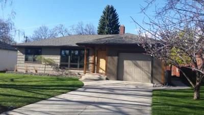 Missoula Single Family Home Under Contract Taking Back-Up : 660 Hastings Avenue