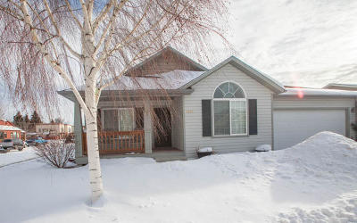 Missoula Single Family Home Under Contract Taking Back-Up : 3803 Lancaster Road