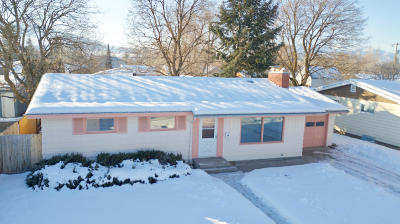 Missoula Single Family Home Under Contract Taking Back-Up : 1925 Dixon Avenue