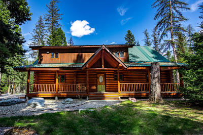 Condon, Potomac, Seeley Lake Single Family Home For Sale: 1224 Scenic Drive