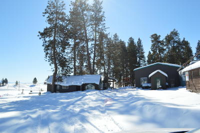 Flathead County Single Family Home For Sale: 2555 Holt Stage Road