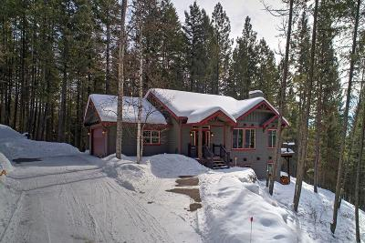 Whitefish Single Family Home Under Contract Taking Back-Up : 2051 Ridegcrest Drive