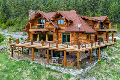 Whitefish Single Family Home For Sale: 235 Antler Ridge Road