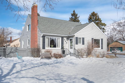 Missoula Single Family Home Under Contract Taking Back-Up : 540 East Central Avenue