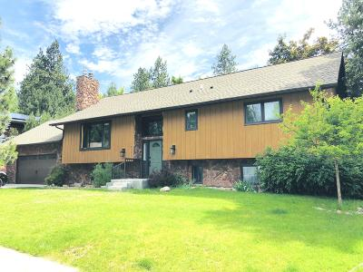 Missoula Single Family Home Under Contract Taking Back-Up : 4060 Fox Farm Road